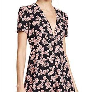 re:named Aurora Floral Mini Dress SZ S